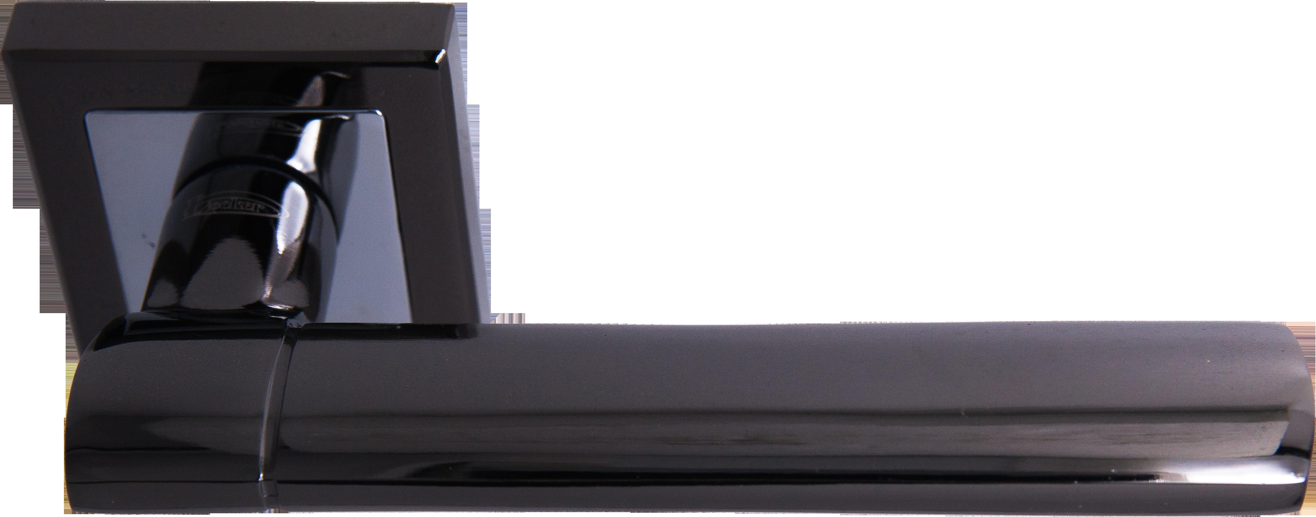 Ручка Локер 52019 BN/CP черный/хром (20 шт.)