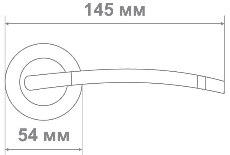 Ручка Медио 576 BN/GP (ТОН 2) черный/золото (10 шт)