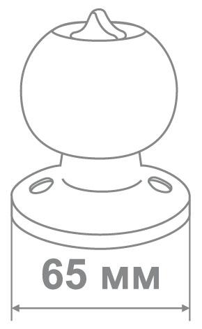 Защелка Locker 607-PS CP (30 шт)
