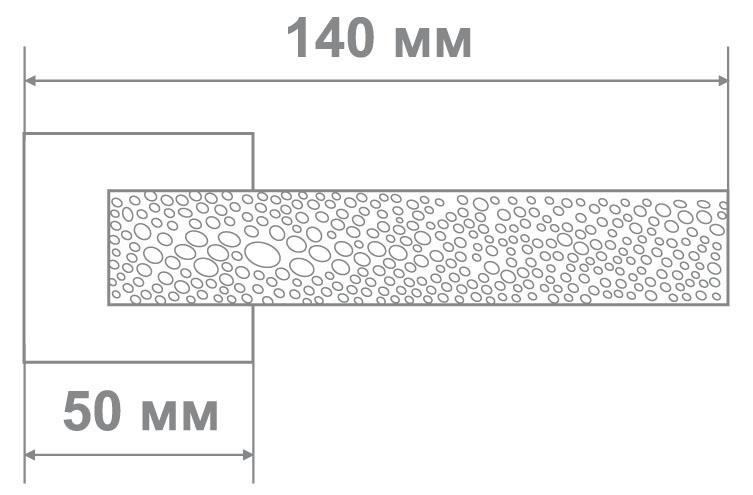 Ручка Leo L3675-30 BLACK NICKEL черный никель (10 шт)