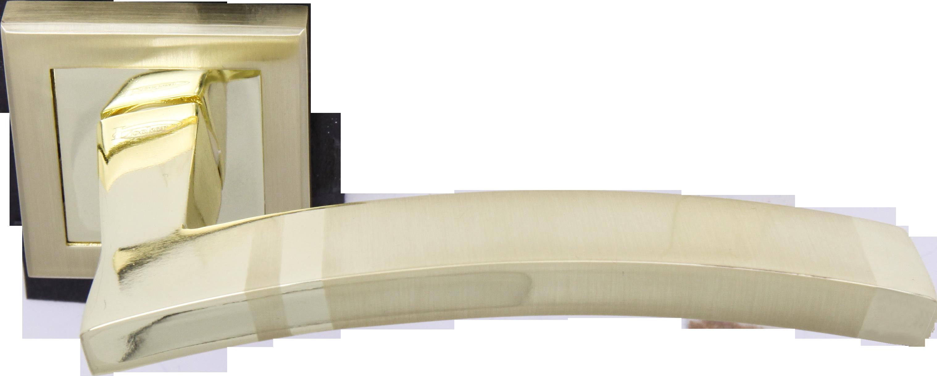Ручка Локер 52126 SB/GP мат.золото/золото (20 шт.)