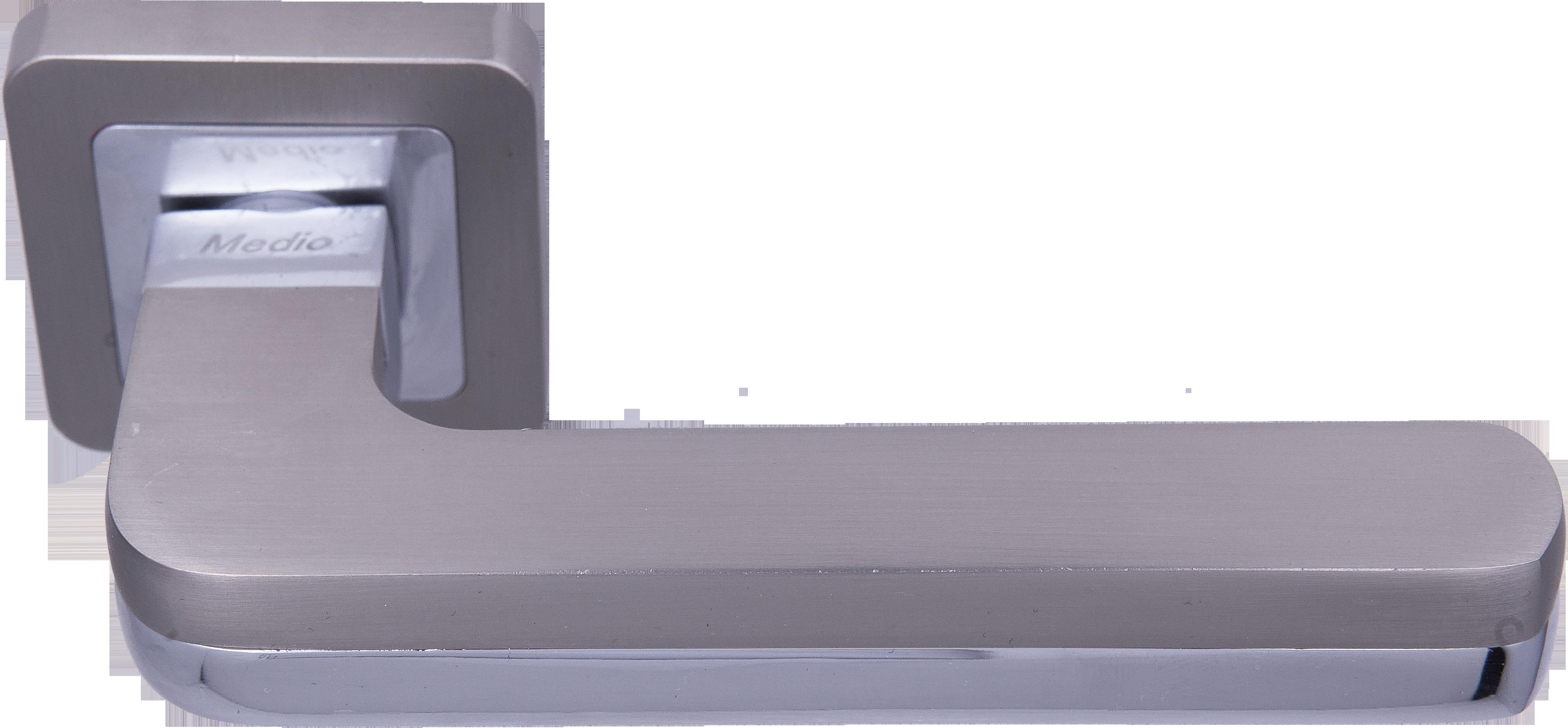 Ручка Медио ML7032-78 MSN/CP мат.никель/хром (20 шт)