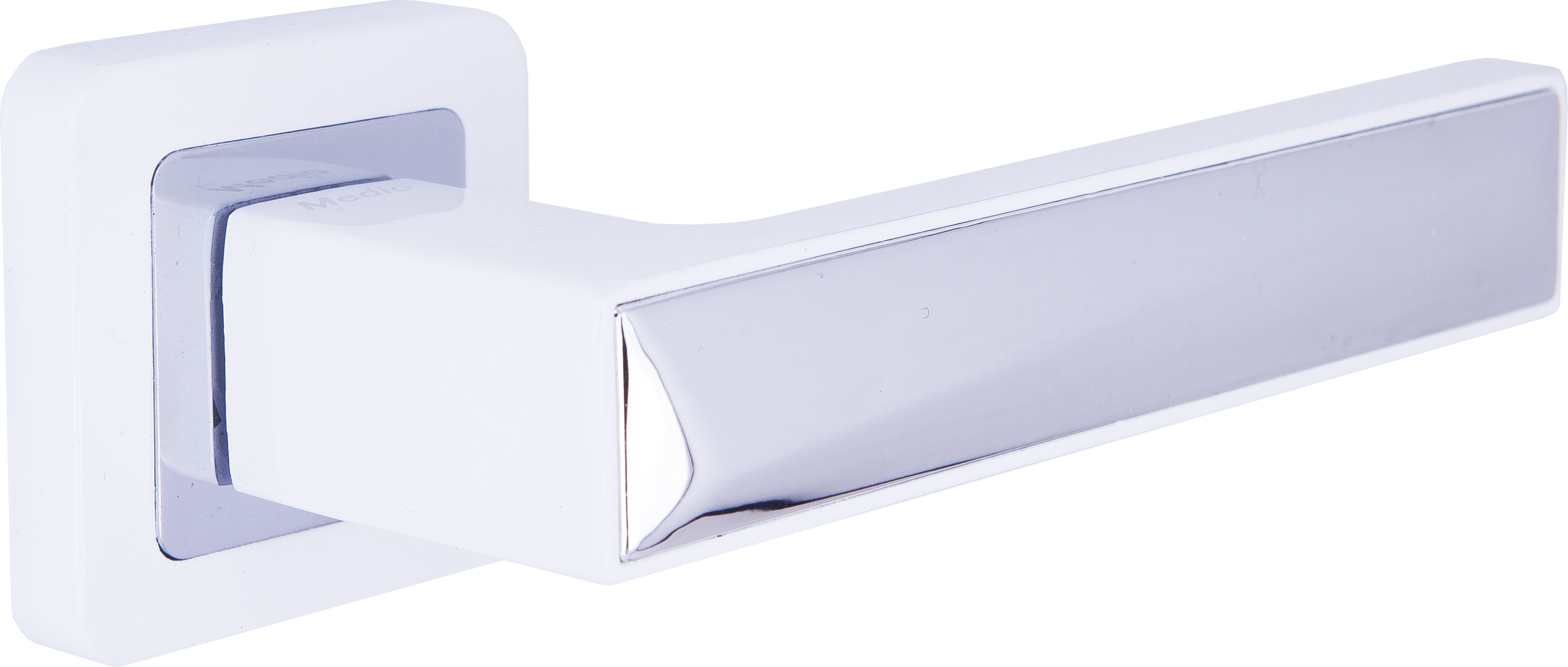Ручка Медио ML7465-78 WW/CP белый/хром (20 шт)