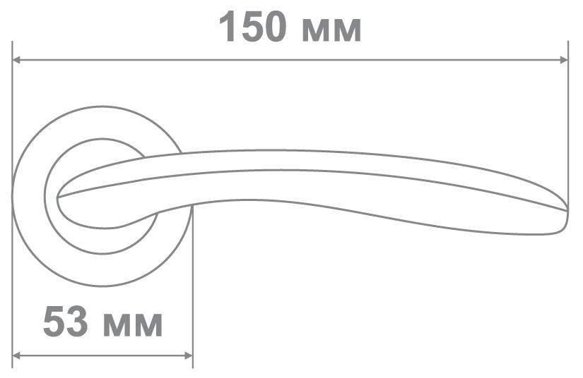 Ручка Медио 260 BCF-K кофе глянец (20 шт)