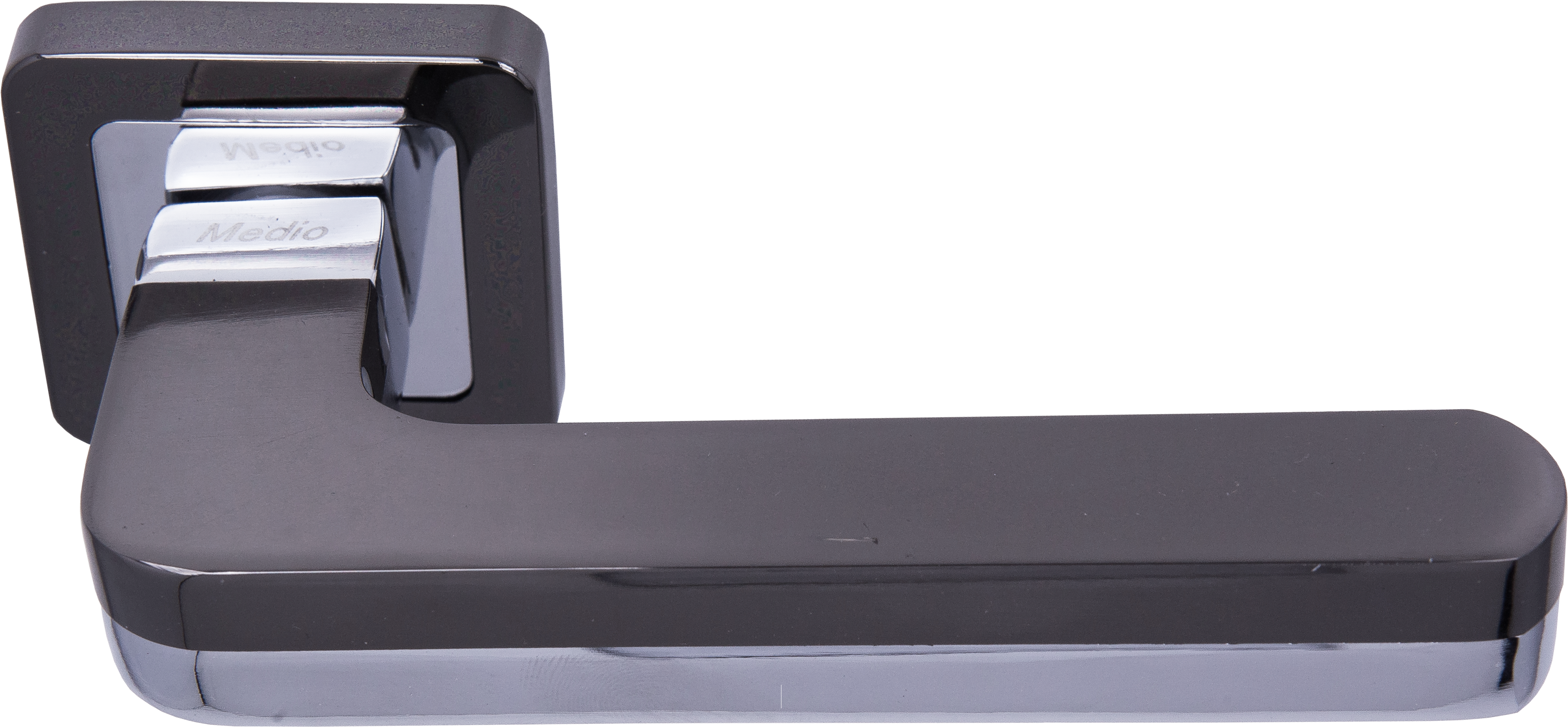Ручка Медио ML7032-78 BN/CP черный/хром (20 шт)