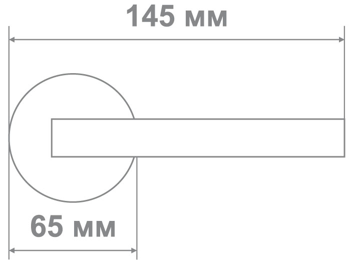 Защелка Locker 894(153)-BK AB (20 шт)