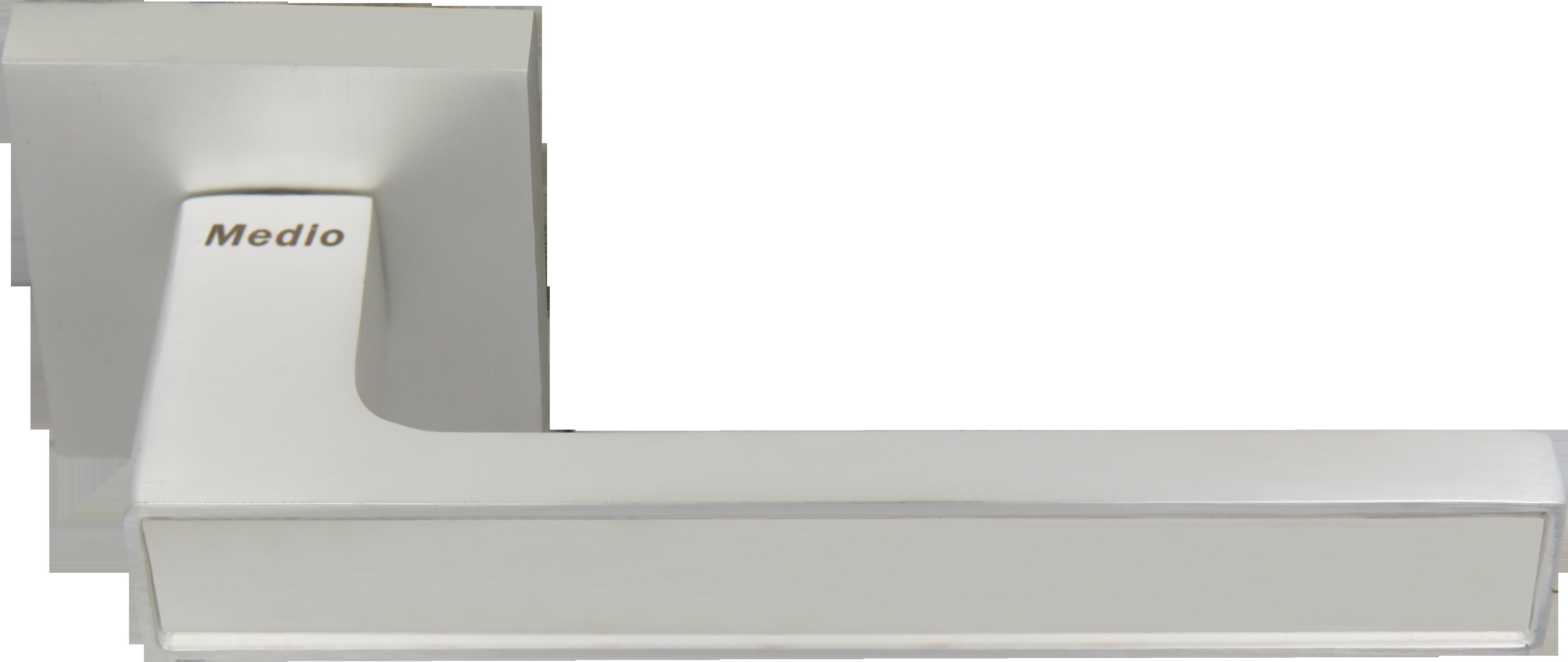 Ручка Медио ML6096-15 PW/CP сатин (20 шт)