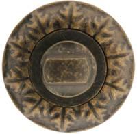 Накладка Медио BAT23 DIRTY BRASS старая бронза (100 шт)