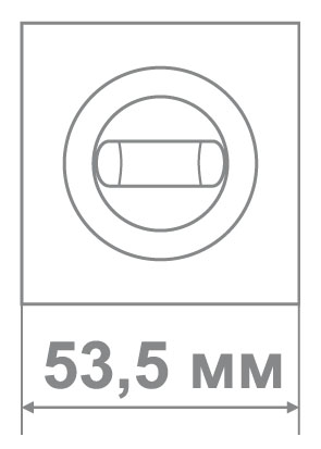 Накладка Медио L09 BAT TSC/CP мат.хром/хром (70 шт)