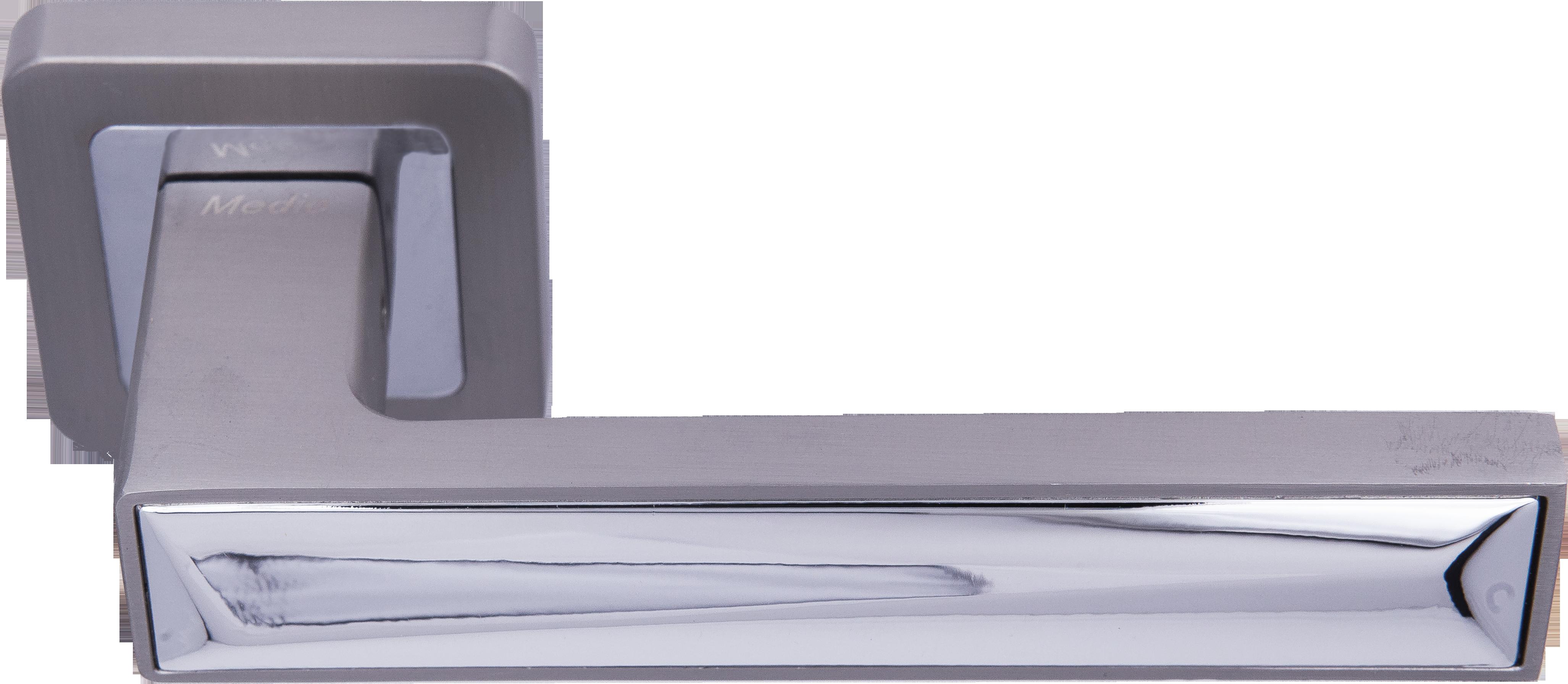 Ручка Медио ML7465-78 MSN/CP мат.никель/хром (20 шт)