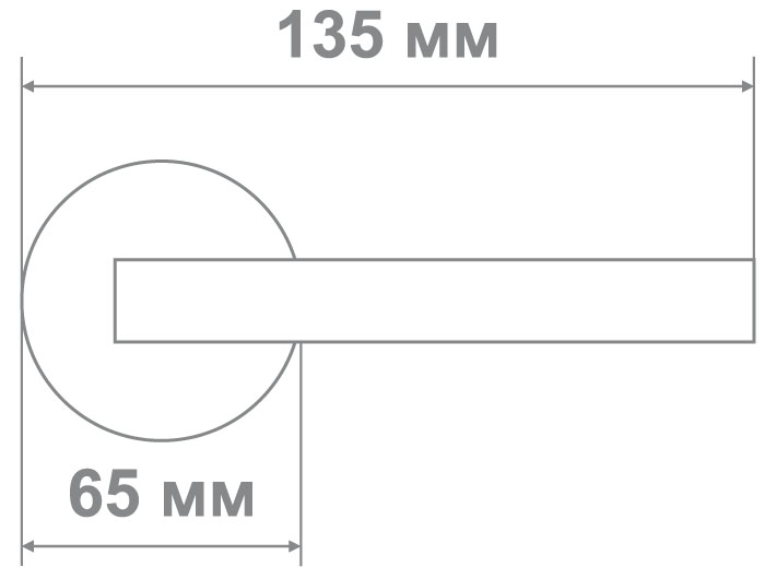 Защелка Locker 891-BK PB (20 шт)