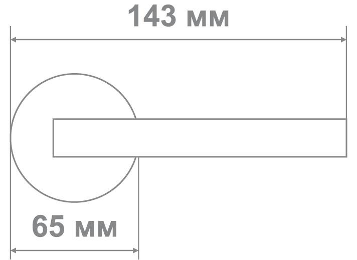 Защелка Джули 895 SB-PS (20 шт)