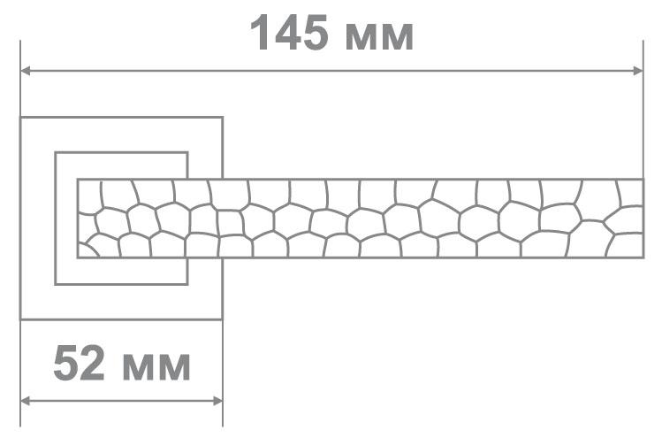 Ручка Leo Z0-0282 ABM бронза/рельеф (12 шт)