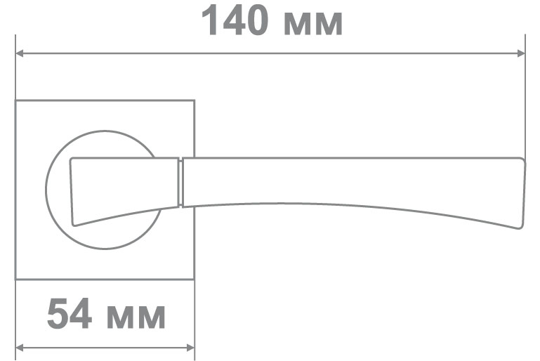 Ручка Медио L09-198 SN/CP никель/хром (20 шт)