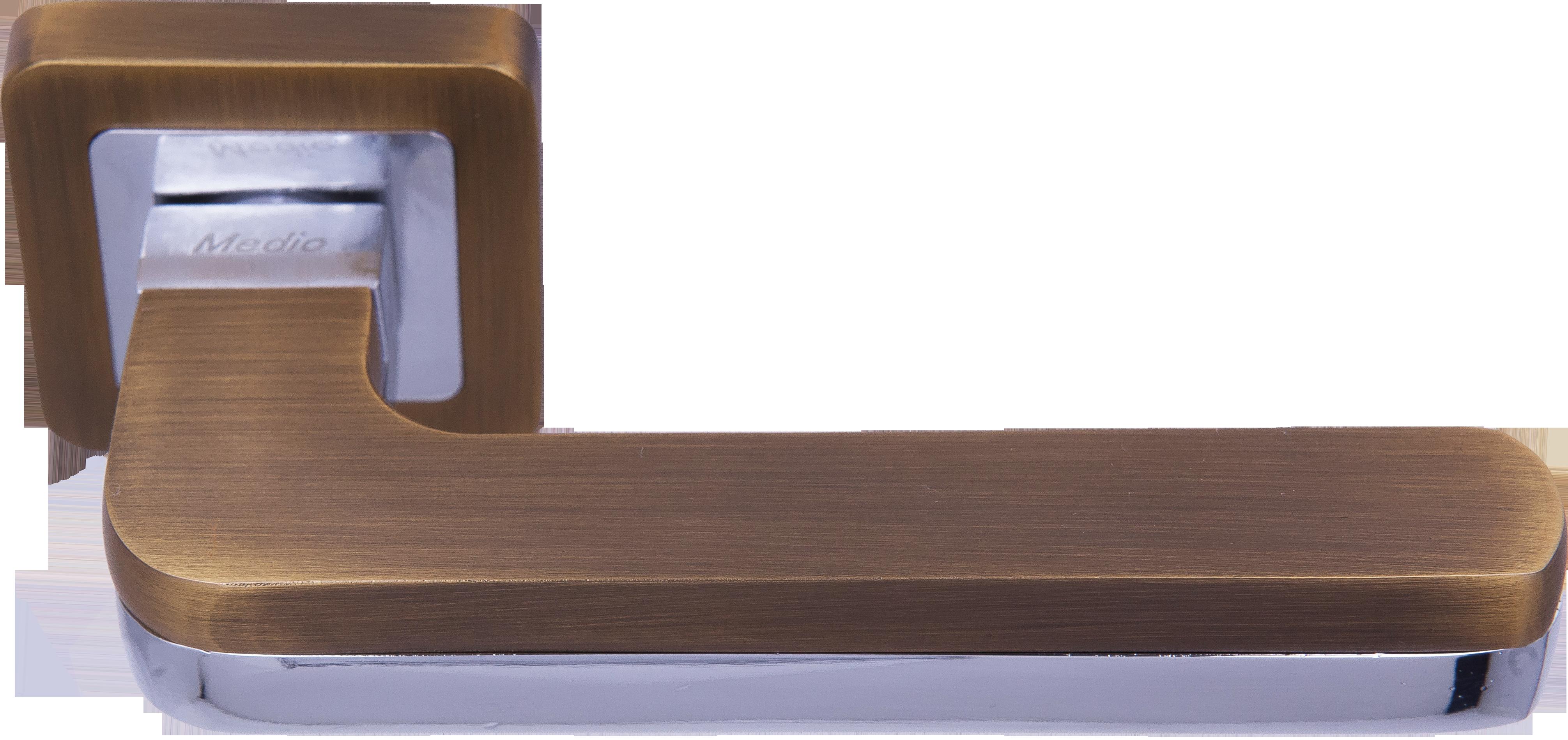 Ручка Медио ML7032-78 GF-G/CP кофе/хром (20 шт)