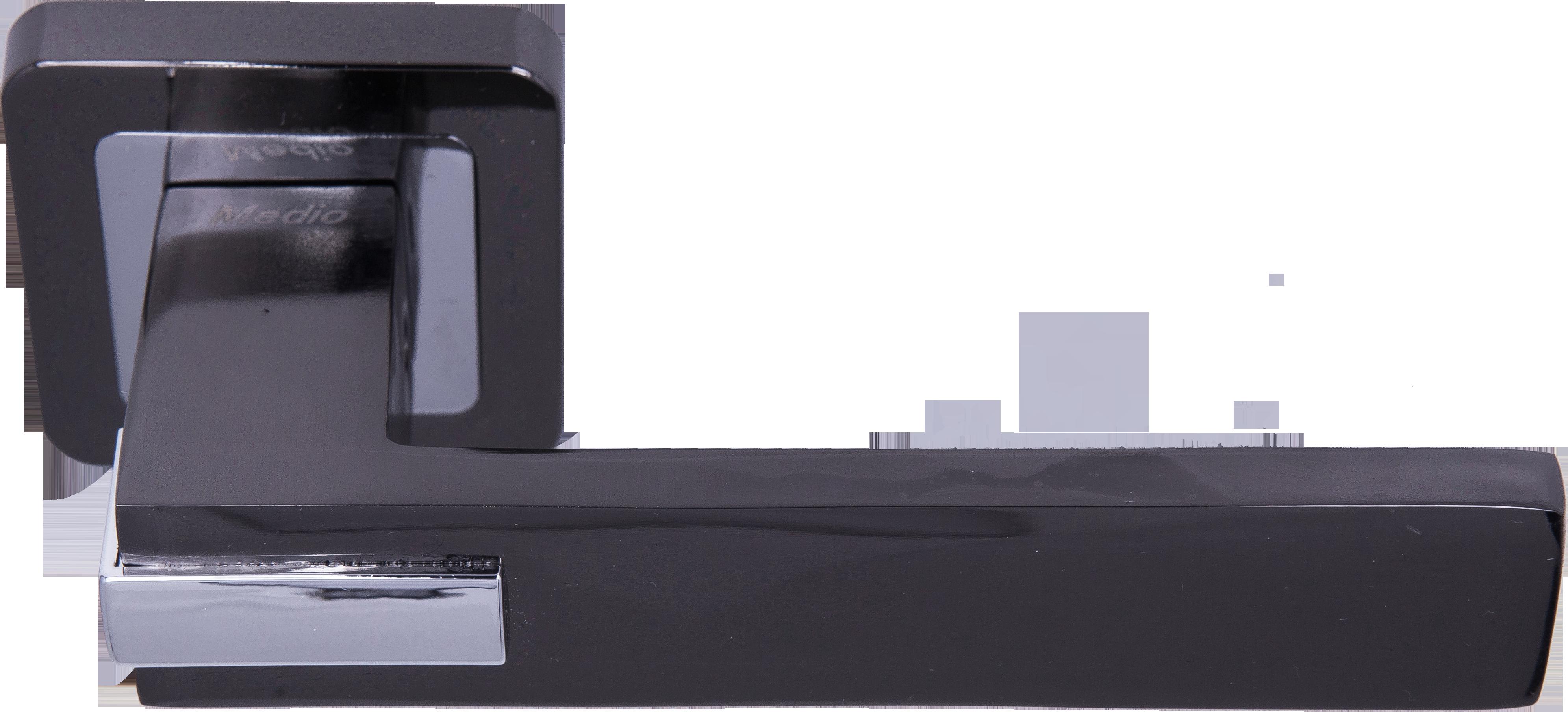Ручка Медио ML7034-78 BN/CP черный/хром (20 шт)