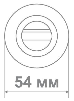 Накладка Локер ZY50 BAT AB бронза (50 шт)