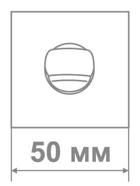 Накладка Leo LBK30 ANTIQUE SILVER антич.серебро (60 шт)