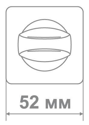Накладка Медио MLBK88 MCF мат.кофе (50 шт)