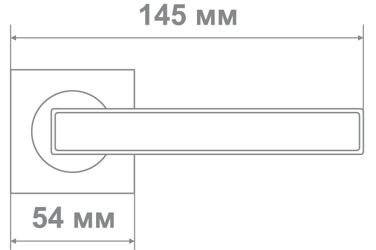 Ручка Медио M6672-05 PEARL NICKEL перлам. никель (20 шт)