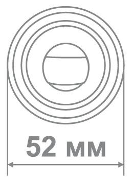 Накладка Аделли ABK22 CP хром (50)