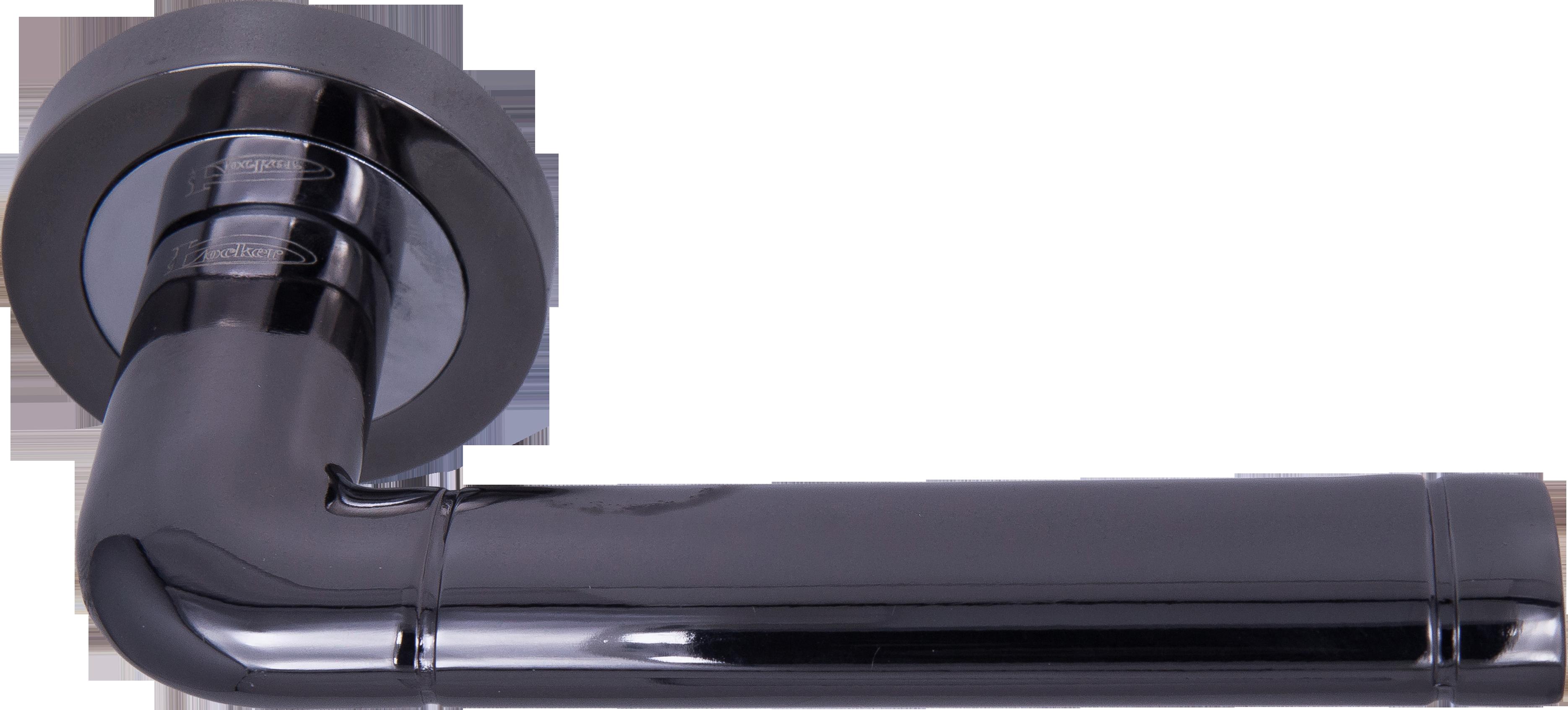 Ручка Локер 53165 BN/CP черный/хром (20 шт.)