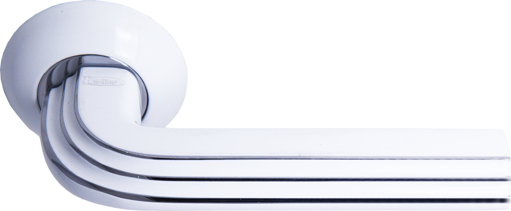 Ручка Локер 55069 CPW хром/белый (20 шт)