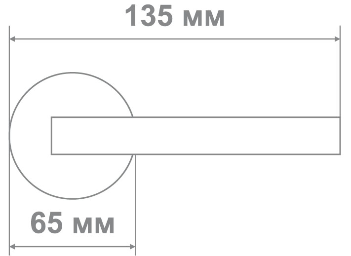 Защелка Джули 832 WAB-ET матовая бронза (20 шт)