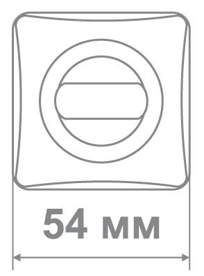Накладка Медио L36 BAT BCF кофе глянец (50 шт)