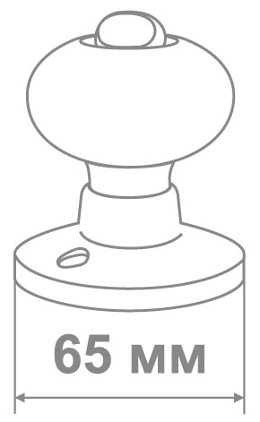 Защелка Джули 6082 PB-PS (30 шт)