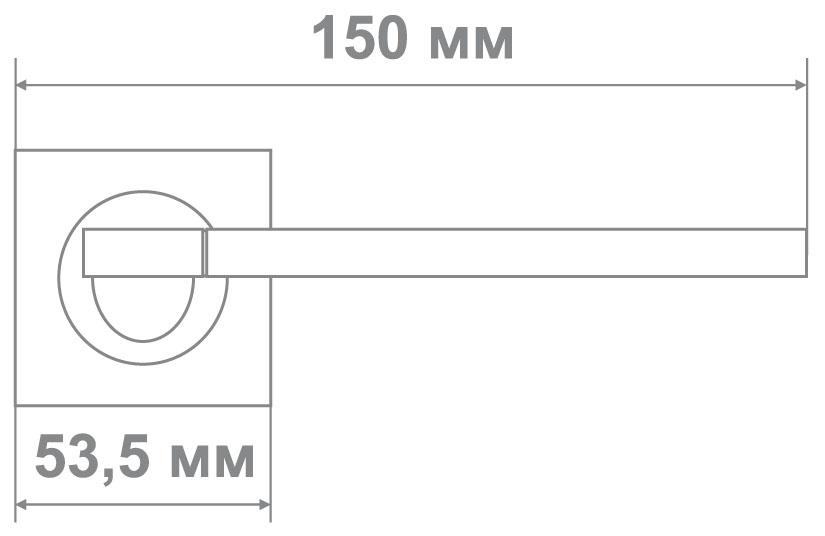 Ручка Медио L09-212 BN/GP (ТОН 1) черное золото (20 шт)