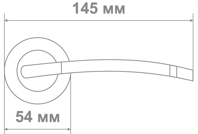 Ручка Медио 576 BCF кофе глянец (20 шт)