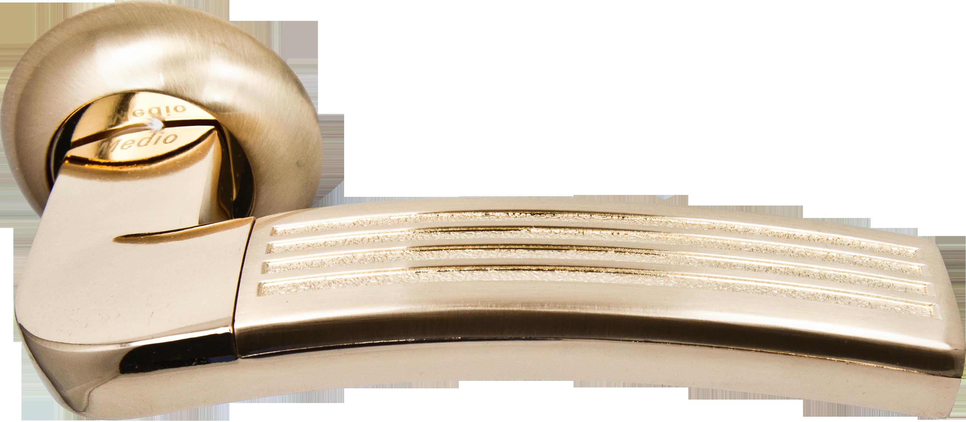 Ручка Медио 255В SB/GP (ТОН 3) мат.золото/золото (20 шт)