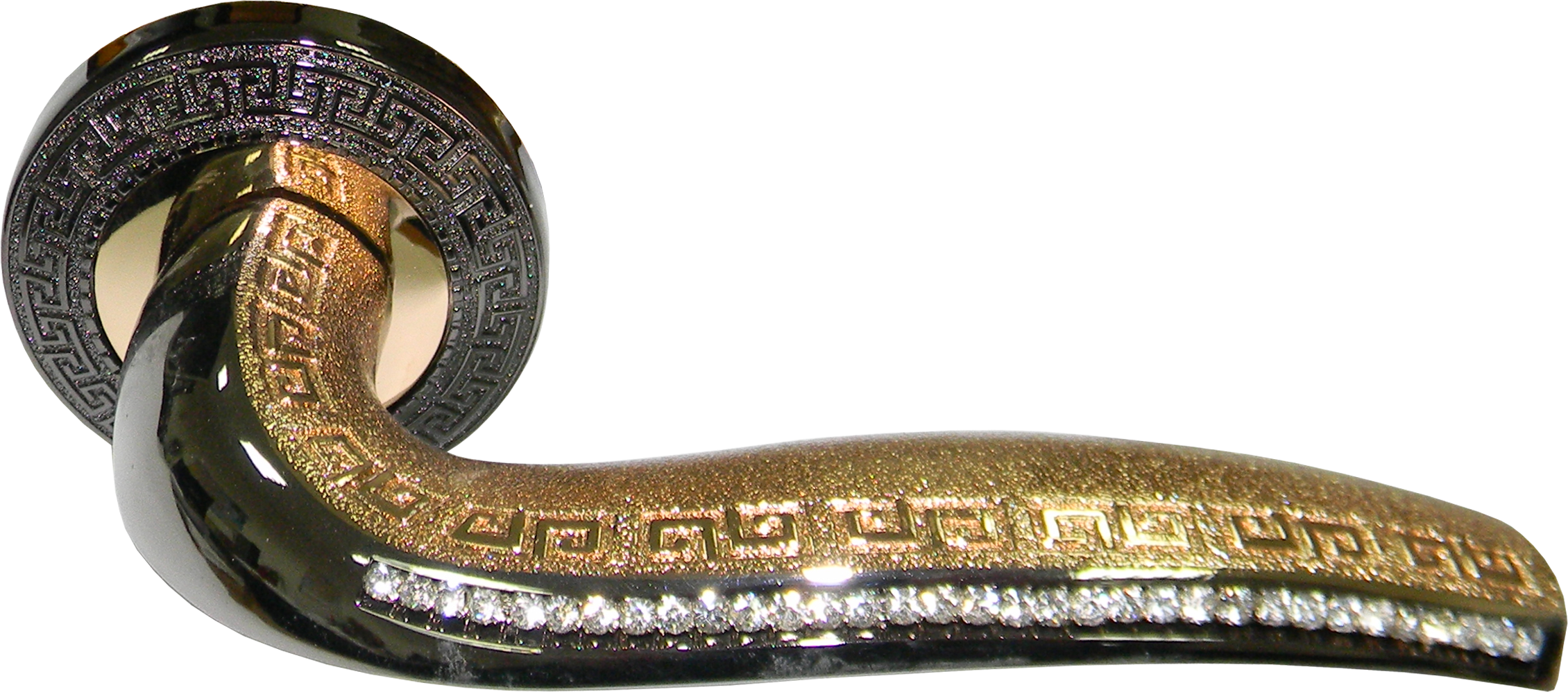 Ручка Аделли A6097-62 BN/GP черный/золото (10 шт)