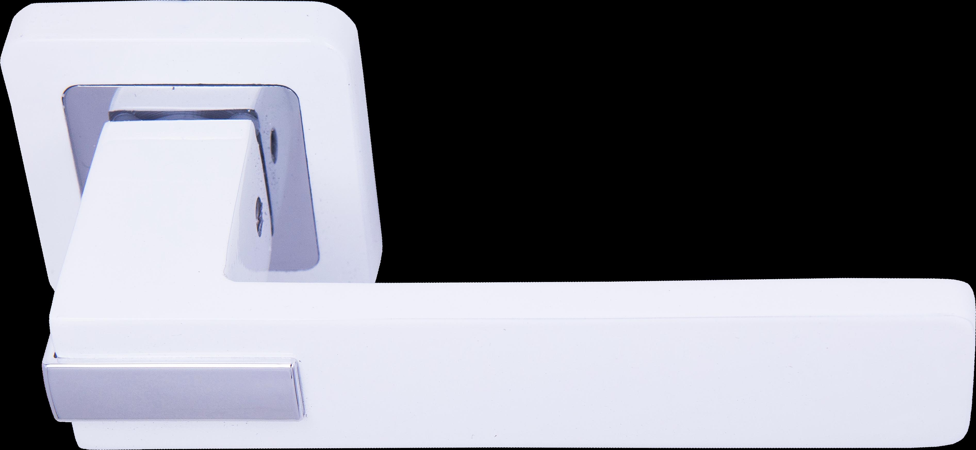 Ручка Медио ML7034-78 WW/CP белый/хром (20 шт)