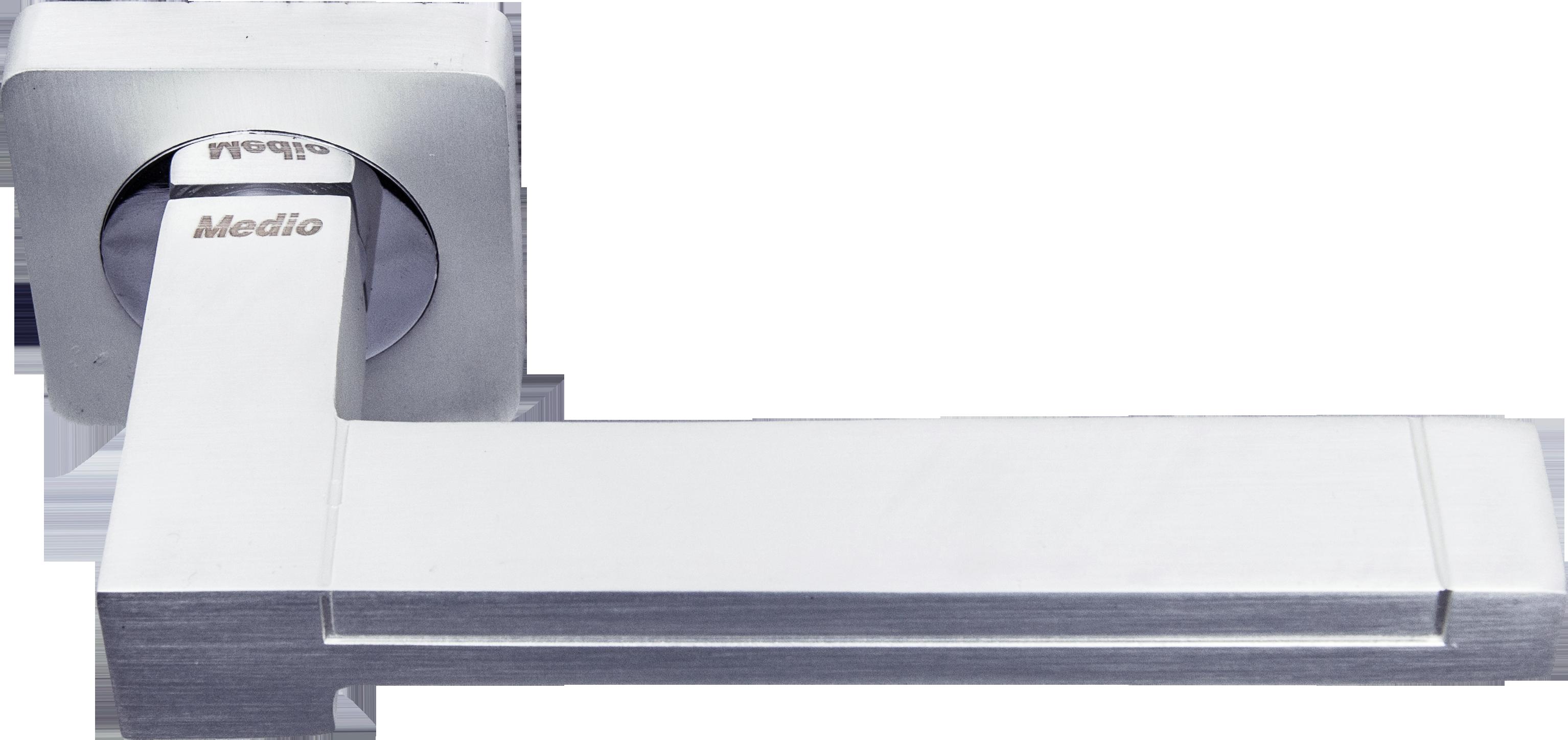 Ручка Медио ML5058-75 PW/CP сатин/хром (20 шт)
