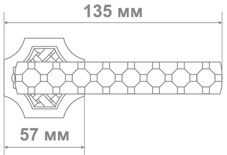 Ручка Медио 178-915 MAB антич.бронза (10 шт)