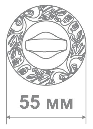 Накладка Медио MD2 BAT BCF ТОН 2 кофе глянец (50 шт)