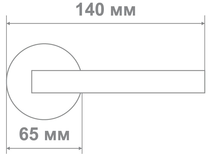 Защелка Locker 898-BK AC (20 шт)