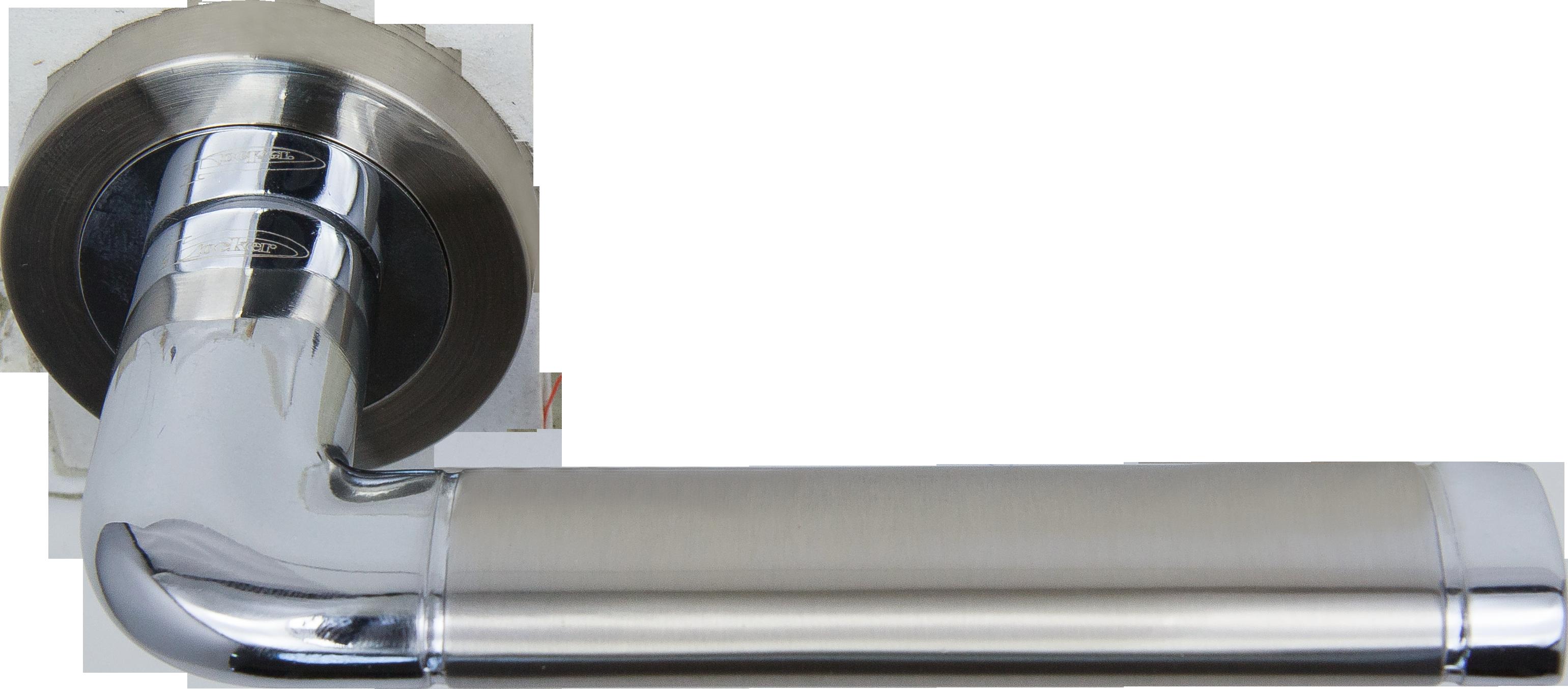 Ручка Локер 53165 SN/CP никель/хром (20 шт.)
