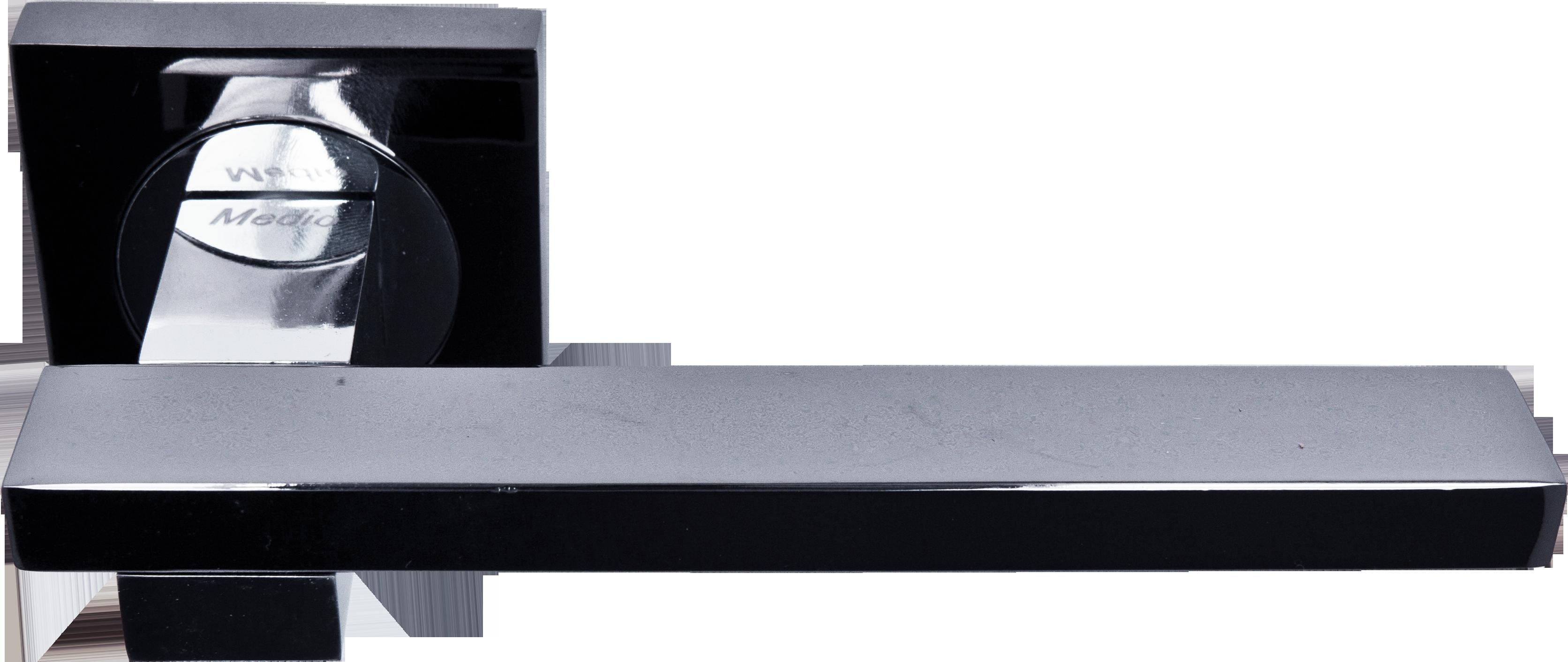 Ручка Медио L09-114 BN/CP черный/хром (20 шт)