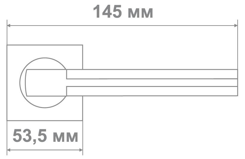 Ручка Медио L09-335 MCF/K GOLD кофе мат./золото (20 шт)